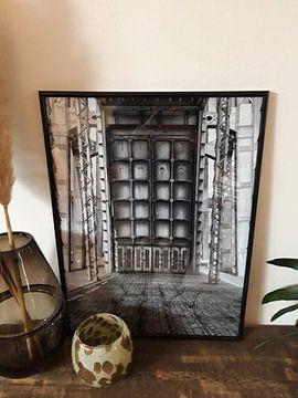 Klantfoto: Schachtbok van de mijn van Genk  van Marc Arts
