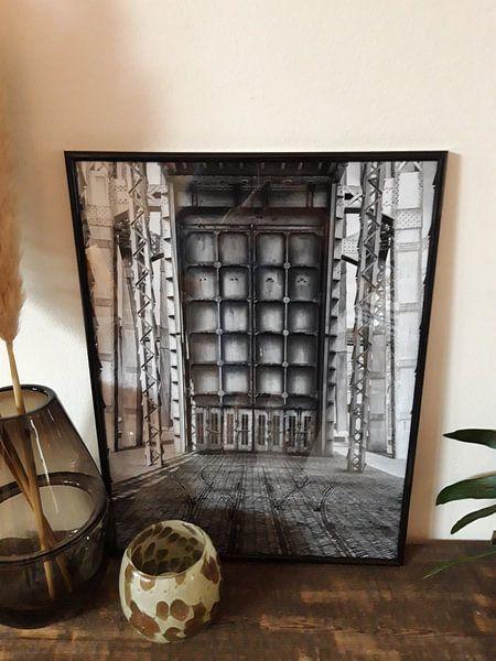 Photo de nos clients: Schachtbok van de mijn van Genk  sur Marc Arts, sur poster