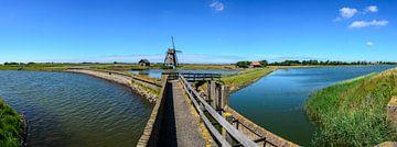 Mühle auf Texel von Marcel Pietersen