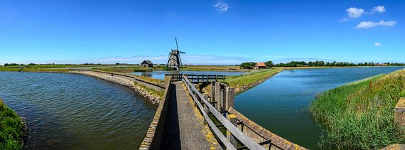 Molen op Texel van Marcel Pietersen