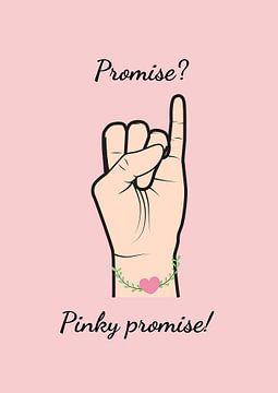 Pinky promise de belofte van A De Jong