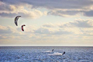Kitesurfen von Angela Dölling