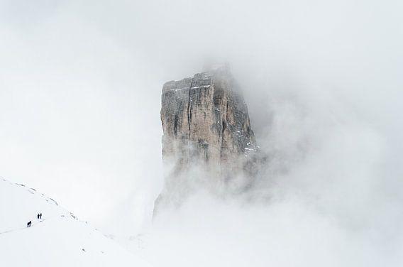 Avontuur in de Dolomieten in de winter