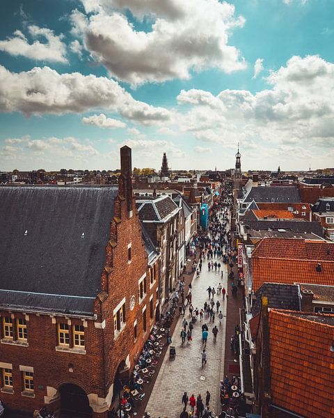 Alkmaar Langestraat van Pim Haring