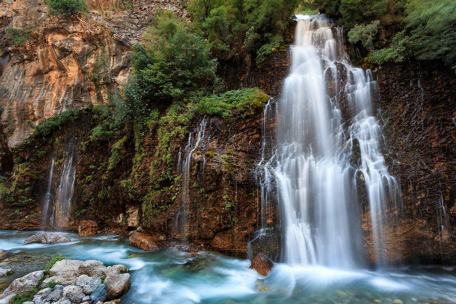 Waterval in Turkije van Roy Poots