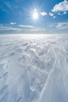Ijsformaties op de hoogvlakte in Zweden van Leo Schindzielorz