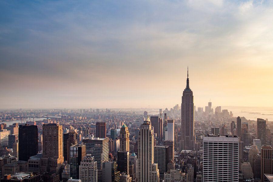 New York Panorama VIII van Jesse Kraal