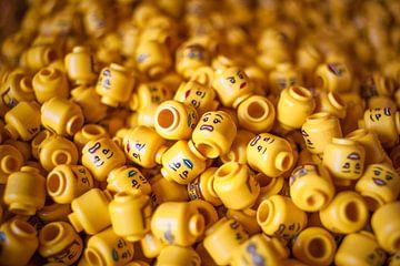 Lego hoofdjes van