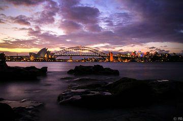 Sydney haven gebied sur Rob Bleijenberg