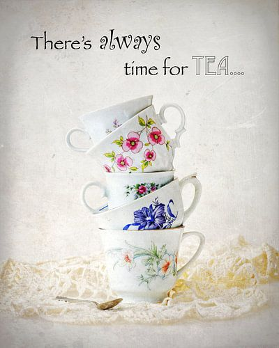 High tea time / tijd voor thee