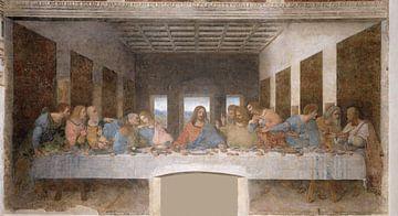 Das letzte Abendmahl, Leonardo da Vinci. von