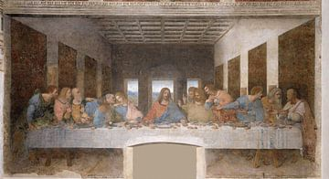 Das letzte Abendmahl, Leonardo da Vinci.