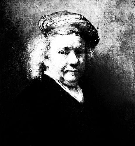 Zelfportret Rembrand van Rijn van