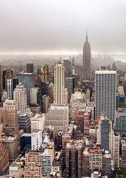 Nebligen Tag in Manhattan, Par Soderman von 1x
