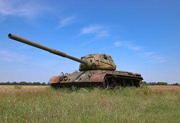 M47 Patton leger tank kleur van Martin Albers
