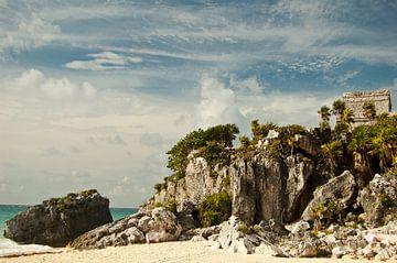 Maya ruins Tulum von Ralph van Krimpen