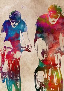Radfahren Fahrrad Sport Kunst #Radfahren #Fahrrad