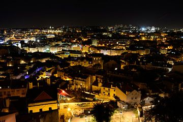 Night in Lisbon van Jeroen Harmsen