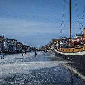 Patinage sur glace à Assen sur Andre Klooster