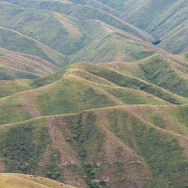 Berge in Kirgisistan von Daan Kloeg