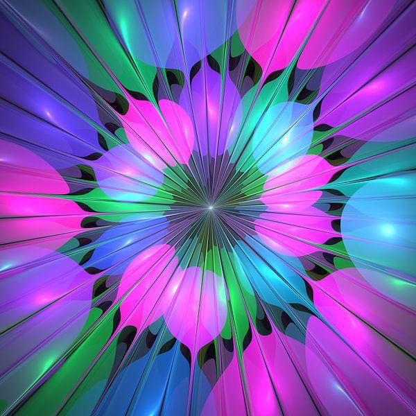 Colourful and luminous van gabiw Art