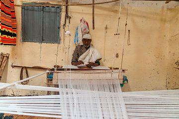 Ethiopië: Wever (Chencha) van Maarten Verhees