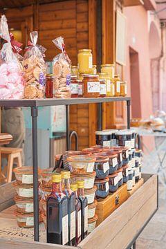 Lokale producten in Bourg Saint Maurice, Frankrijk van Christa Stroo fotografie
