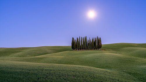 Volle Maan in Toscane II