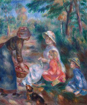 Der Apfelverkäufer, Pierre-Auguste Renoir