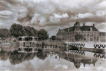 Rijksmunt und das Merwedekanaal  von Jan van der Knaap