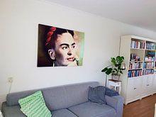 Klantfoto: Frida van Harald Fischer, op canvas