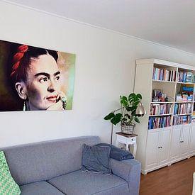 Kundenfoto: Frida Kahlo von Harald Fischer