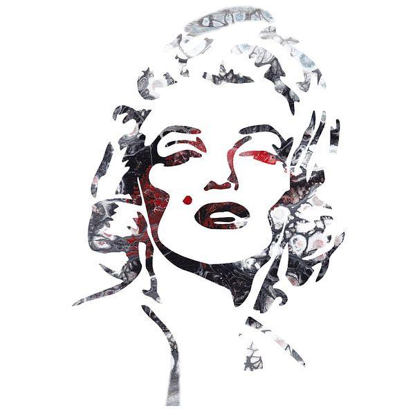 Marilyn Monroe III von Vitalij Skacidub