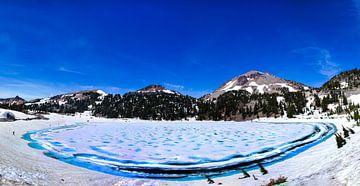 Bevroren meer van Florian Kampes