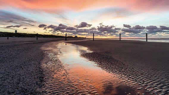 kleur aan zee van B-Pure Photography