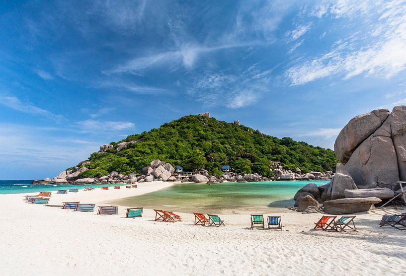 Strand van Koh Nang Yuan van Easycopters