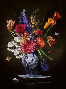 Blumenbild Königliche Freiheit von Sander Van Laar