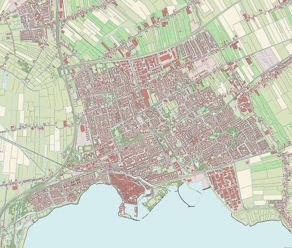 Kaart vanHoorn