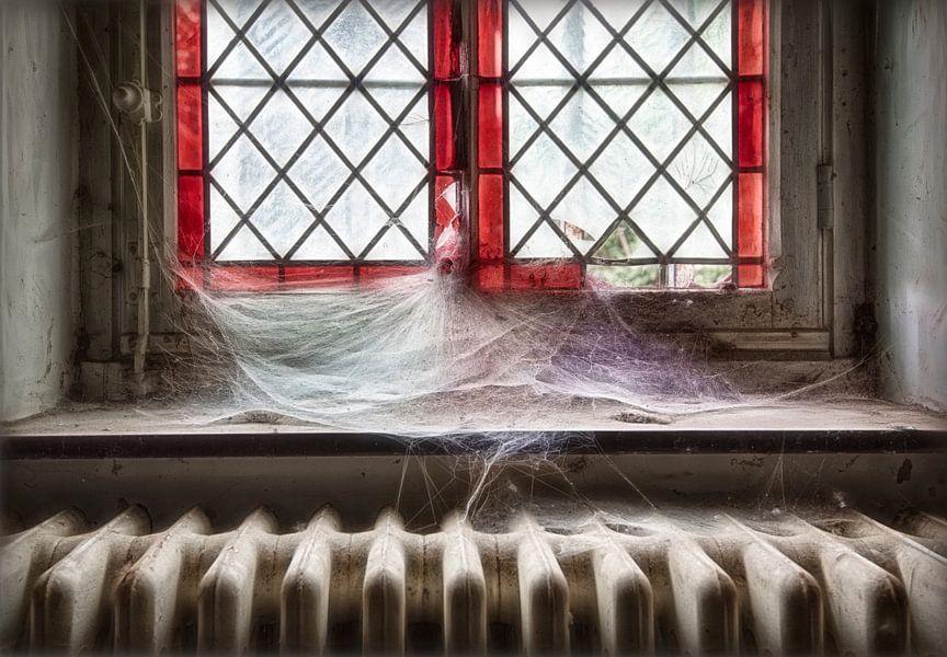 Glas in lood stilleven van Marcel van Balken