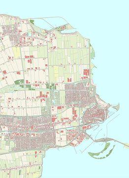 Kaart vanEnkhuizen