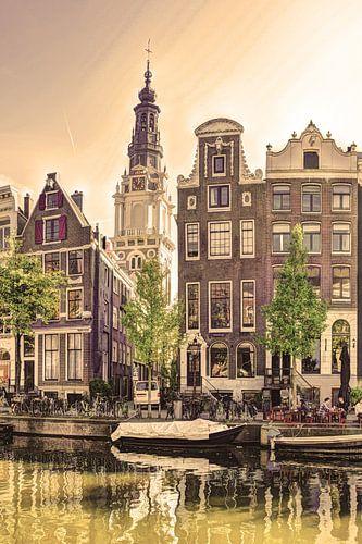 Zuiderkerk Amsterdam Nederland Zwart-Wit
