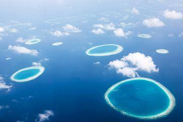 Atolls des Maldives sur Marit Lindberg
