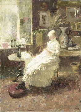 Annie Hall te Lissadell, Surrey, Jan Toorop.