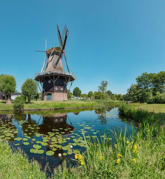 Stellingmolen Penninga's molen, Joure, , Friesland, Nederland van Rene van der Meer