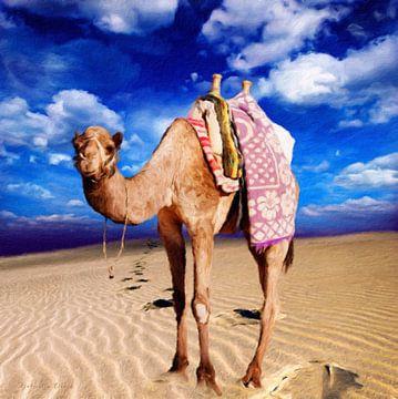 Wüstenleben  van Gabriella David