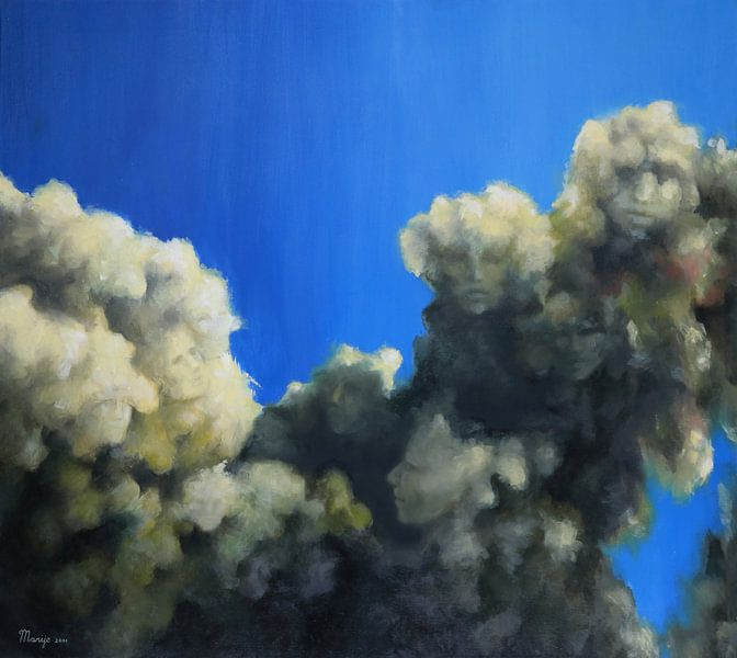 Mystery in the sky van Marije du Bateau