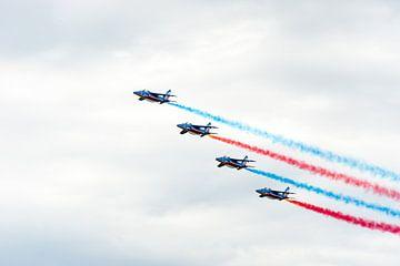 Patrouille de France tijdens de Luchtmachtdagen van Wim Stolwerk