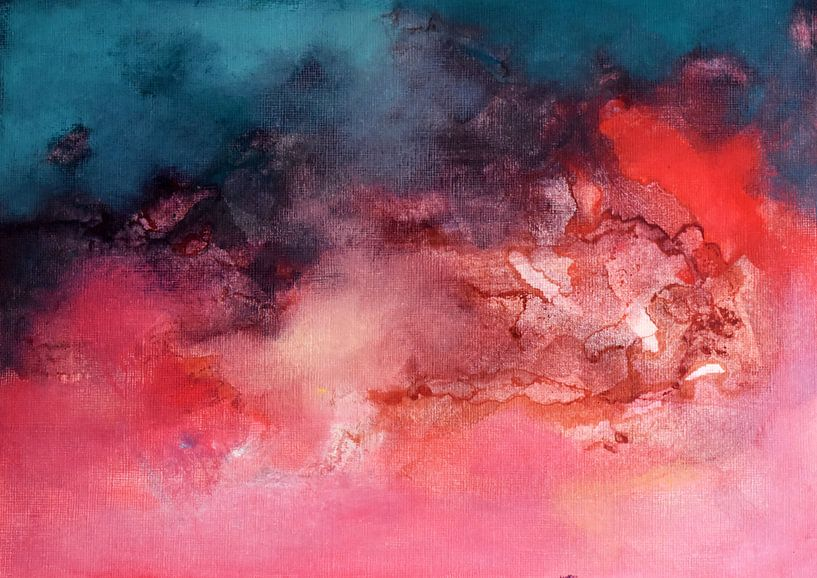 Sunrise Over the Sea von Maria Kitano