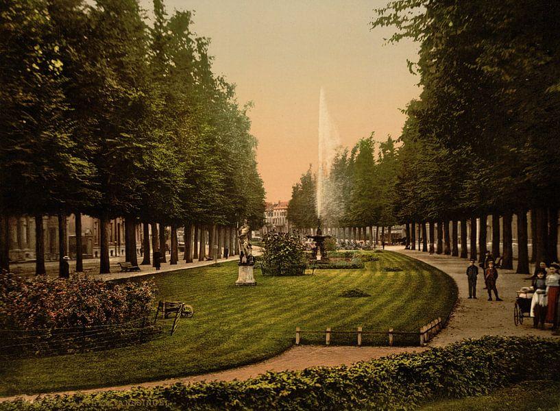 Janssingel, Arnhem van Vintage Afbeeldingen