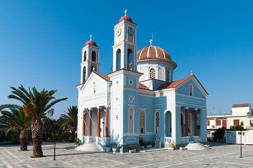 Blauw/witte kerk Kreta